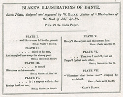 Blake's Illustrations of Dante