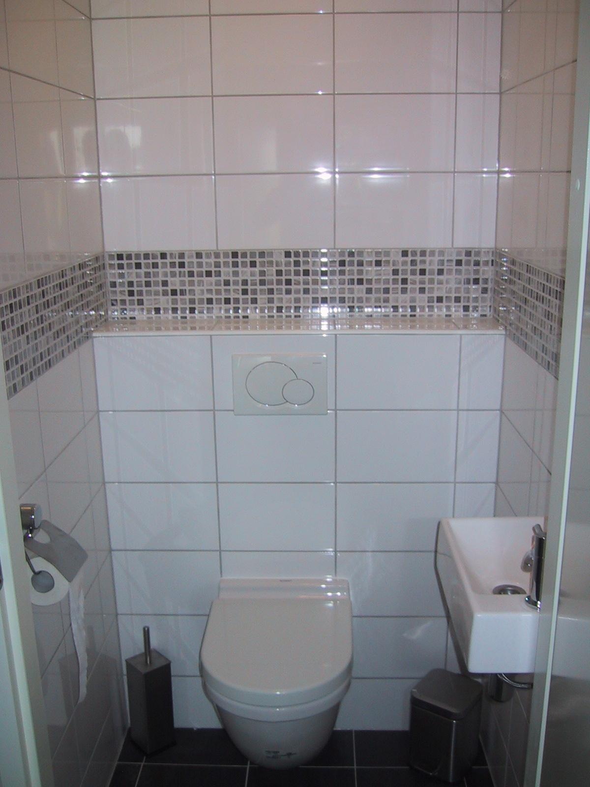 Toilet Mozaïektegel