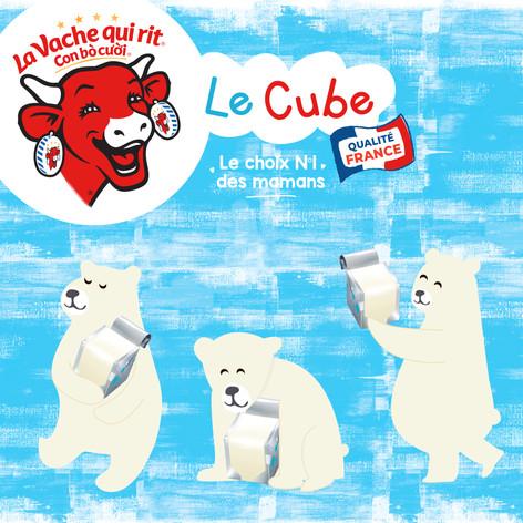 Bel - Le cube Packaging design