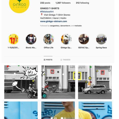 Gingko - Social Media Campaign
