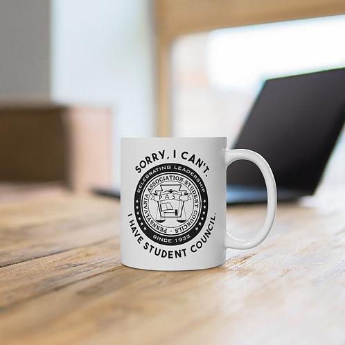 PASC White Ceramic Mug