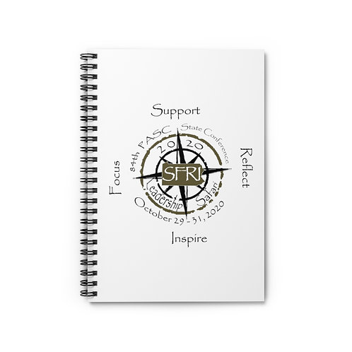 State Conference Spiral Notebook - Ruled Line