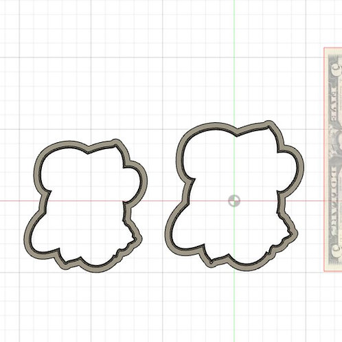 Sweet Dough Circle STL File Small - 3 in