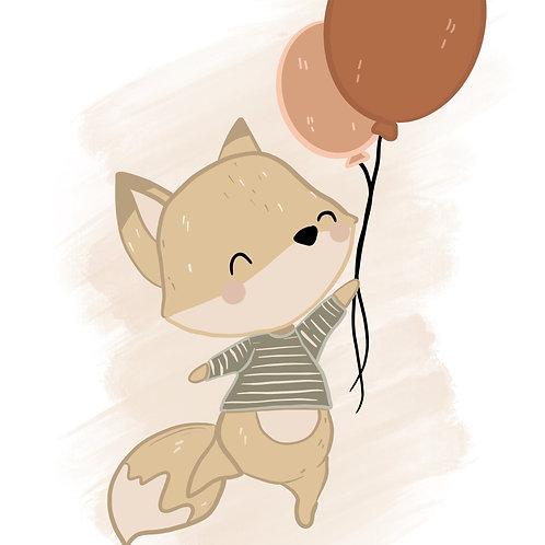Fox and Balloon 1