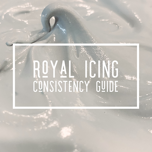 Royal Icing Consistency Guide