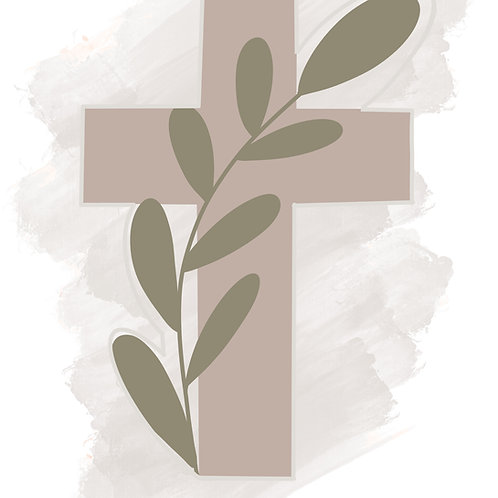 Floral Cross