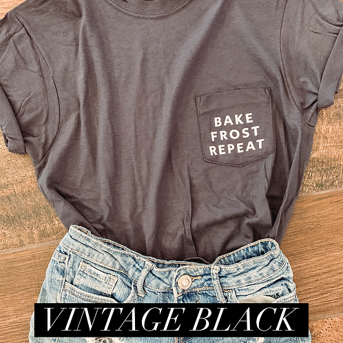 Frost. Bake. Repeat Pocket Tee
