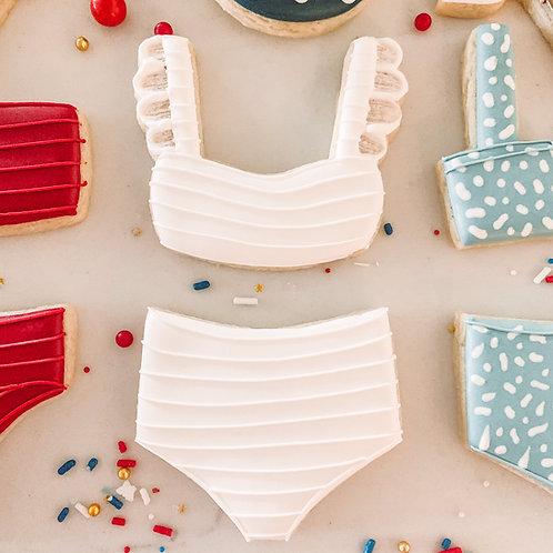 Ruffle Sleeve Bikini