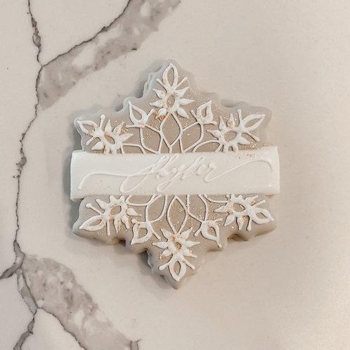 Snowflake Plaque 1