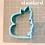 Thumbnail: Floral B STL File Standard - 3 in