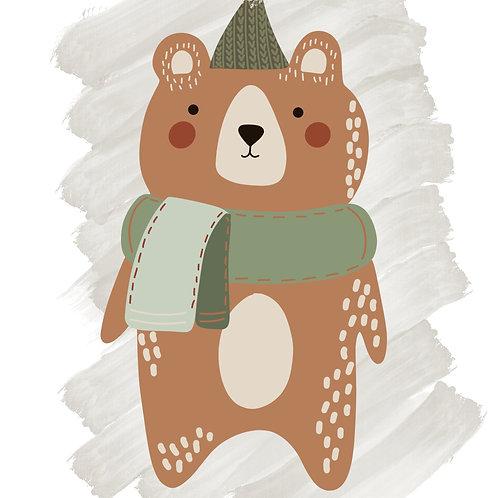Winter Bear 1