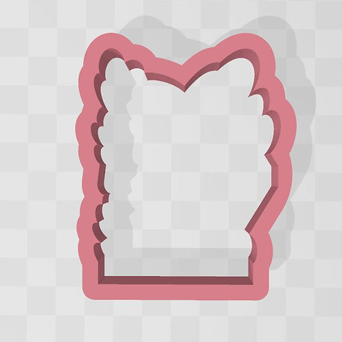 Baby Plaque STL File Large 3.5 in