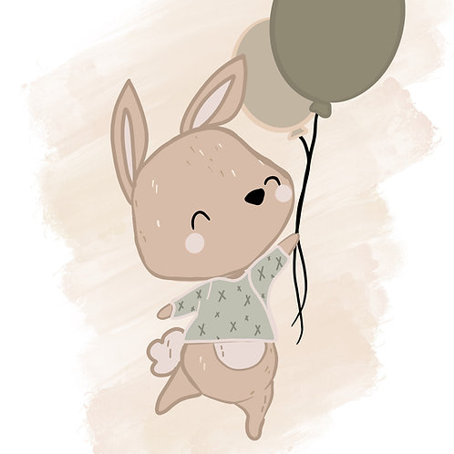 Bunny and Balloon