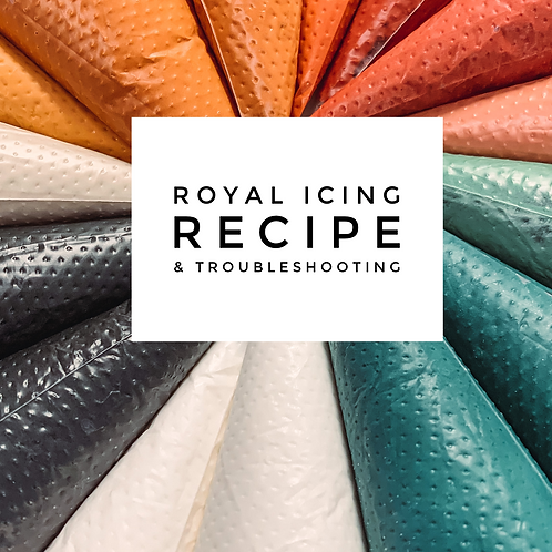 Royal Icing Recipe & Troubleshooting