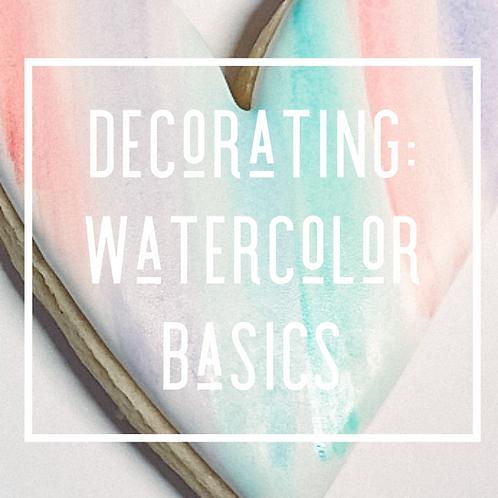 Decorating: Watercolor Basics