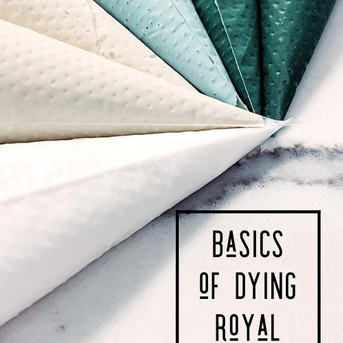 Basics of Dying Royal Icing