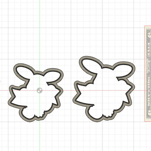 Bunny Banner STL File Small - 3 in