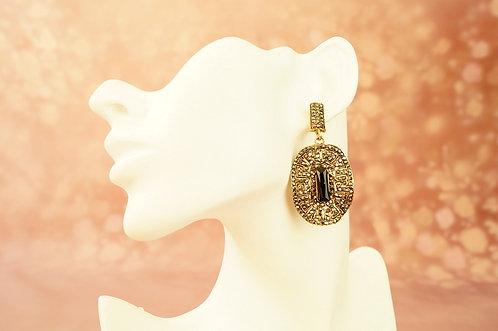 Statement-Ohrring im angesagten Design – ca. 6 cm lang