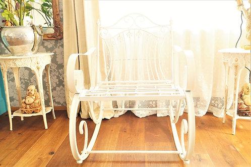 Phänomenaler Schaukelstuhl im Vintage-Stil für Garten, Balkon oder Terrasse