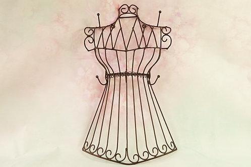 Hakenleiste in Form einer Kleiderpuppe -einfach chic und praktisch