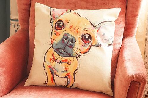 Polster / Kissen im verspielt kultigen Design – Chihuahua