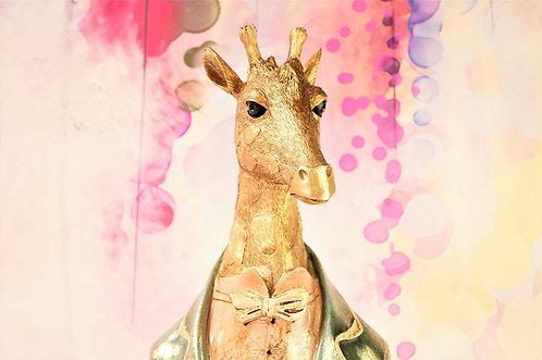 SUPERGENIAL & WUNDERSCHÖN! Herr Giraffe als riesige Büste – Höhe ca. 51,5 cm!