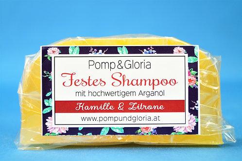 Festes Shampoo - Kamille-Zitrone speziell für blondes Haar