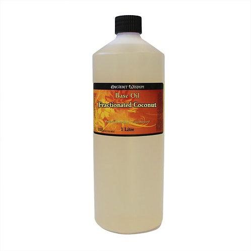100 % NATUR! 1 Liter REINES & HOCHWERTIGES FRAKTIONIERTES Kokos-Öl – GESÄTTIGT