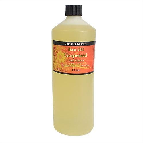 100 % NATUR! 1 Liter REINES & HOCHWERTIGES Traubenkern-Öl–reguliert Fetthaushalt