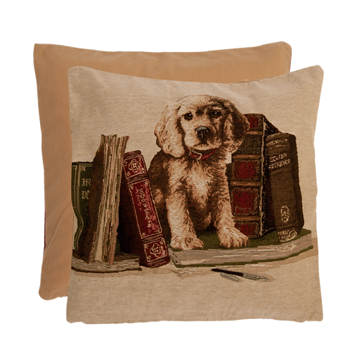 Entzückende Kissenhülle aus Baumwolle und Kunstfaser – 40 x 40 cm