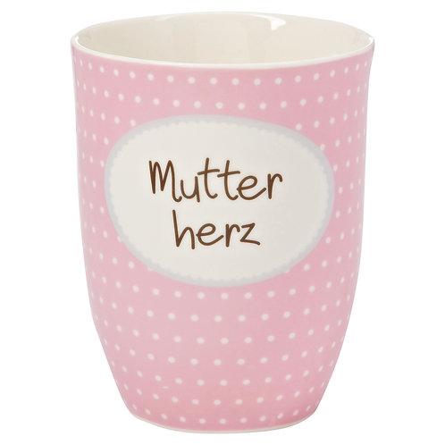Kaffeebecher XL aus Porzellan - 500 ml – Mutterherz