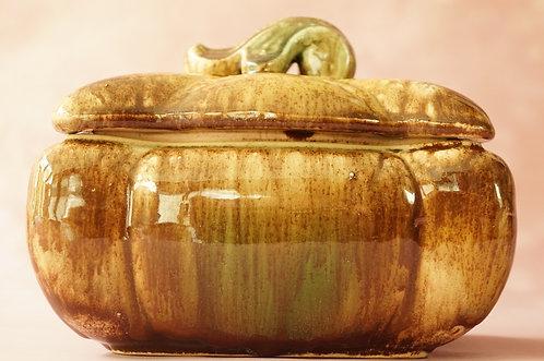ART DÉCO – geniale Laufglasur Keramik-Deckeldose
