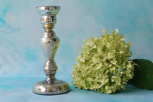 Biedermeier Bauernsilber! Kerzenständer um 1830