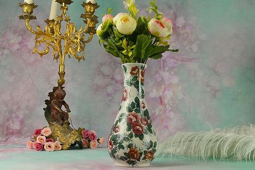VILLEROY & BOCH WALLERFANGEN Vase um 1900!