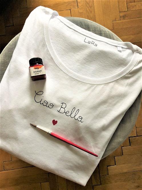 """Statement-Shirt """"Ciao Bella"""" in allen Größen"""