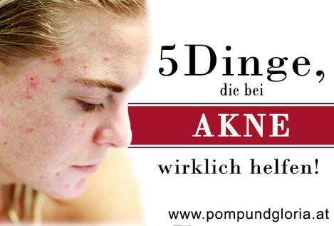 5 Produkte,  die gegen Akne wirklich helfen!