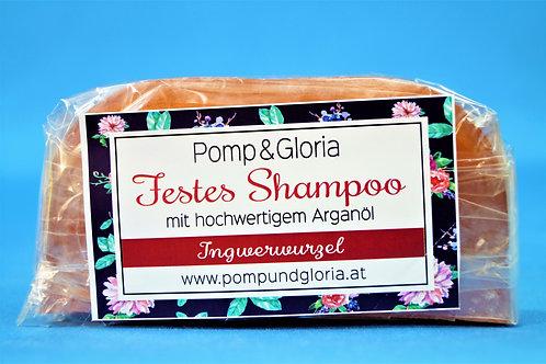 Festes Shampoo - Ingwerwurzel