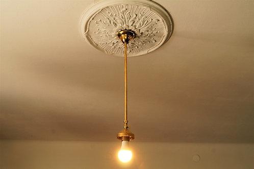 Tolle, neue Zuglampe im Vintage-Design – ohne Schirm – Fassung ca. 6 c