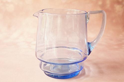 Jugendstil /Art Déco - genialer Glas-Wasserkrug