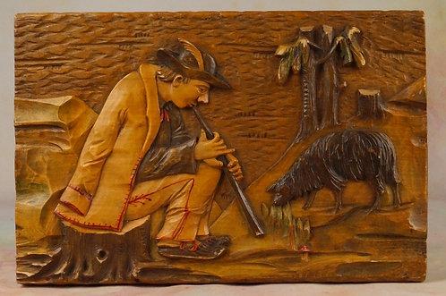 handgeschnitzte Schatulle! Holzbox