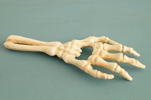 Skeletthand - Flaschenöffner aus Gusseisen