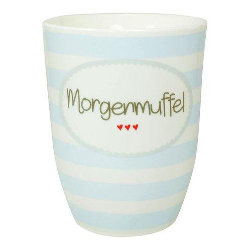 Kaffeebecher XL aus Porzellan - 500 ml – Morgenmuffel
