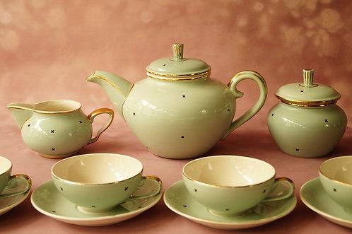 ART DÉCO – Entzückendes Teeservice um 1920