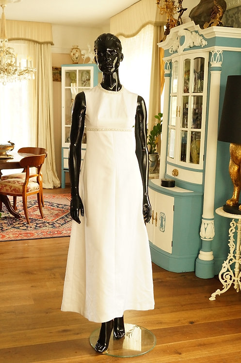 SONDERPREIS!!! Original 60er Jahre Hochzeitskleid mit kleineren Mängeln