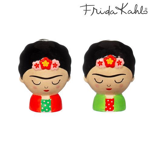 It´s FRIDA! Angesagte Frida Kahlo Salz- & Pfefferstreuer