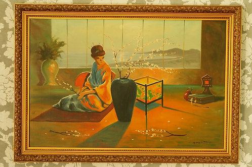 MIDCENTURY de Luxe – Geniales Gemälde aus den 50er / 60er Jahren / Bild