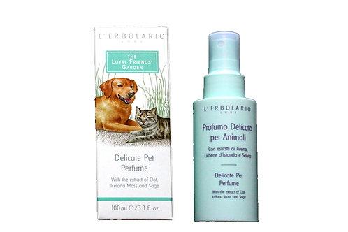 Parfüm für Hund & Katz mit Extrakten aus Hafer, isländisches Moos und Salbei