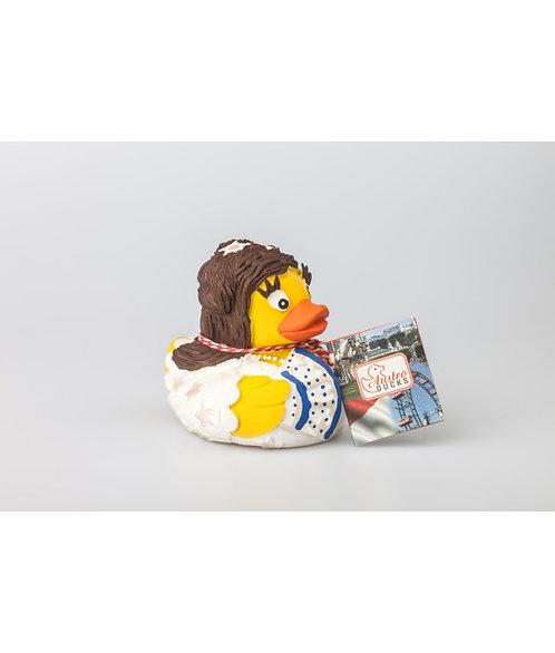 Sissi - diese Quietsch-Ente ist ein Original von Austroduck