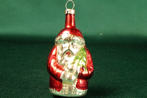 ALTER WEIHNACHTSSCHMUCK!!! Weihnachtsmann ca. 8 cm