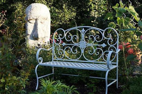 Edle Gartenbank im antiken Stil!